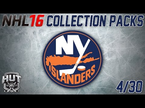 NHL 16 Collection Pack Opening | New York Islanders [PS4]