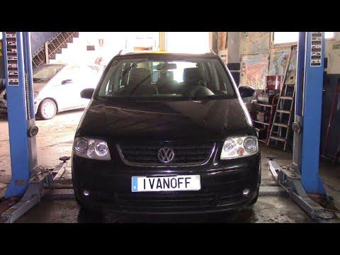 VW Touran 2004  BKD Замена свечей накала