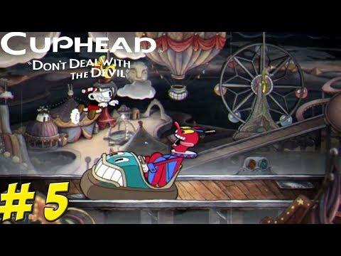 Cuphead! Co-Op Part 5: Carnival Kerfuffle! - YoVideogames