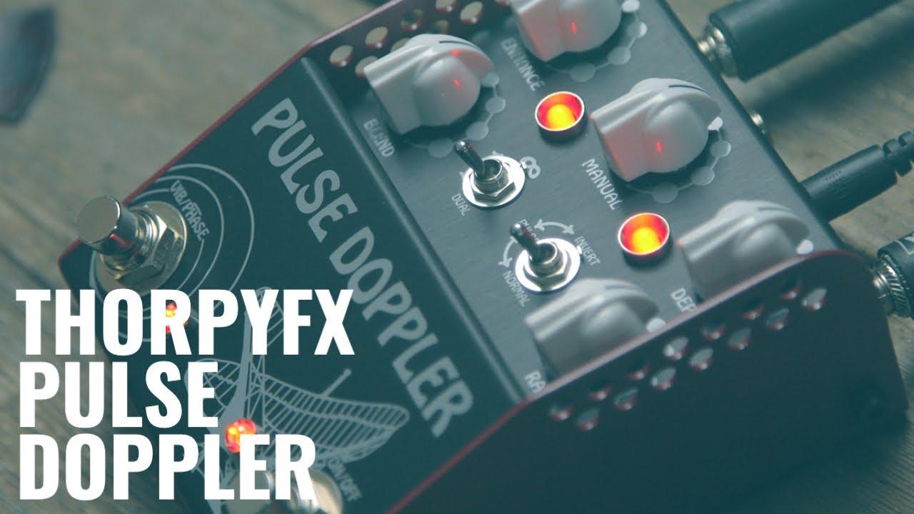 ThorpyFX reimagines Lovetone's Doppleganger with the Pulse Doppler | Guitar.com