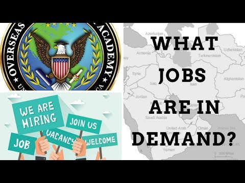What Overseas Jobs Are In Demand?