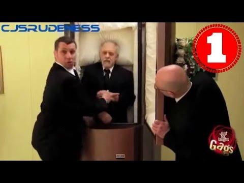 Смешной розыгрыш Попадание с поличным (видео прикол