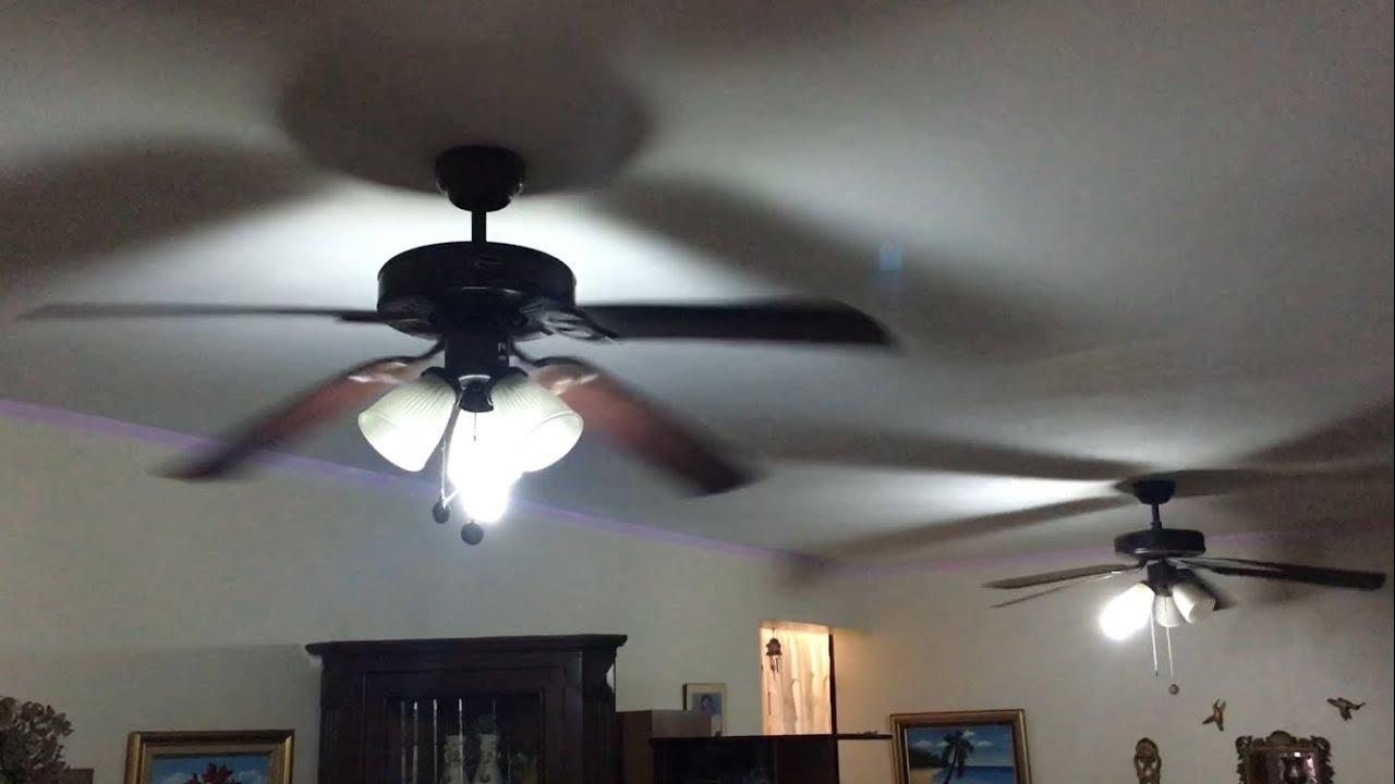 2 vintage ceiling fans greatest hits remake45 blades - Vintage Ceiling Fans