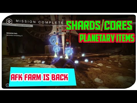 Repeat FARMING Legendary Shards/Planetary Materials CHEESE AFK