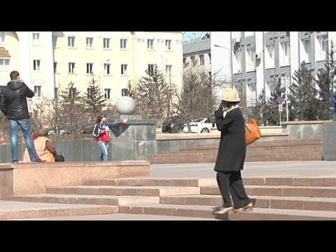 Город Улан-Удэ. Апрель 2013 года