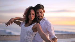 Brunno and Paula - Improv Zouk Dance on the Beach - Zouk SD