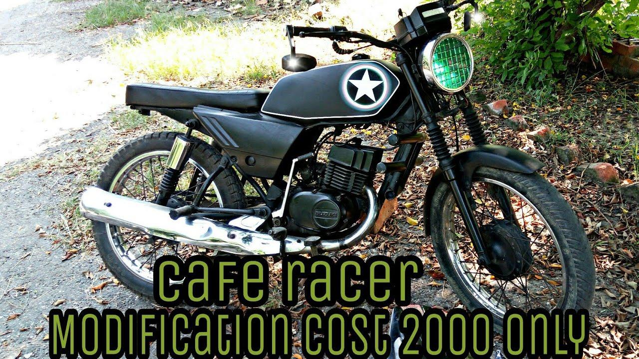 Suzuki Ax100 Cafe Racer Kit | Cardbk co