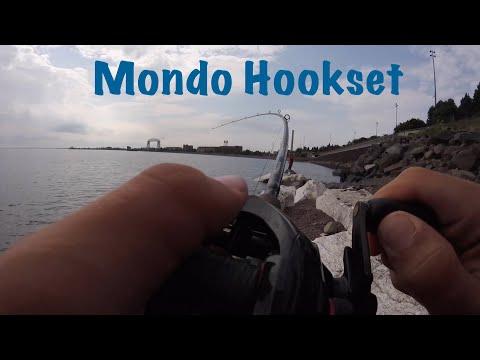 Shore Fishing Lake Superior Duluth 2018