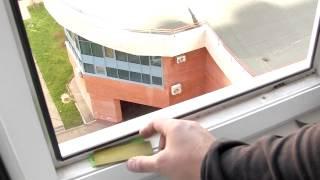 Ремонт пластиковых окон - выравнивание стеклопакета(, 2013-11-03T18:49:44.000Z)