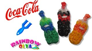 КОКА-КОЛА из резинок на рогатке без станка. Фигурки из резинок | Coca Cola Soda Bottle Charm(В этом видеоуроке вы узнаете как сплести КОКА-КОЛУ из резинок на рогатке без станка. Вам понадобится: 36..., 2015-10-03T12:00:00.000Z)