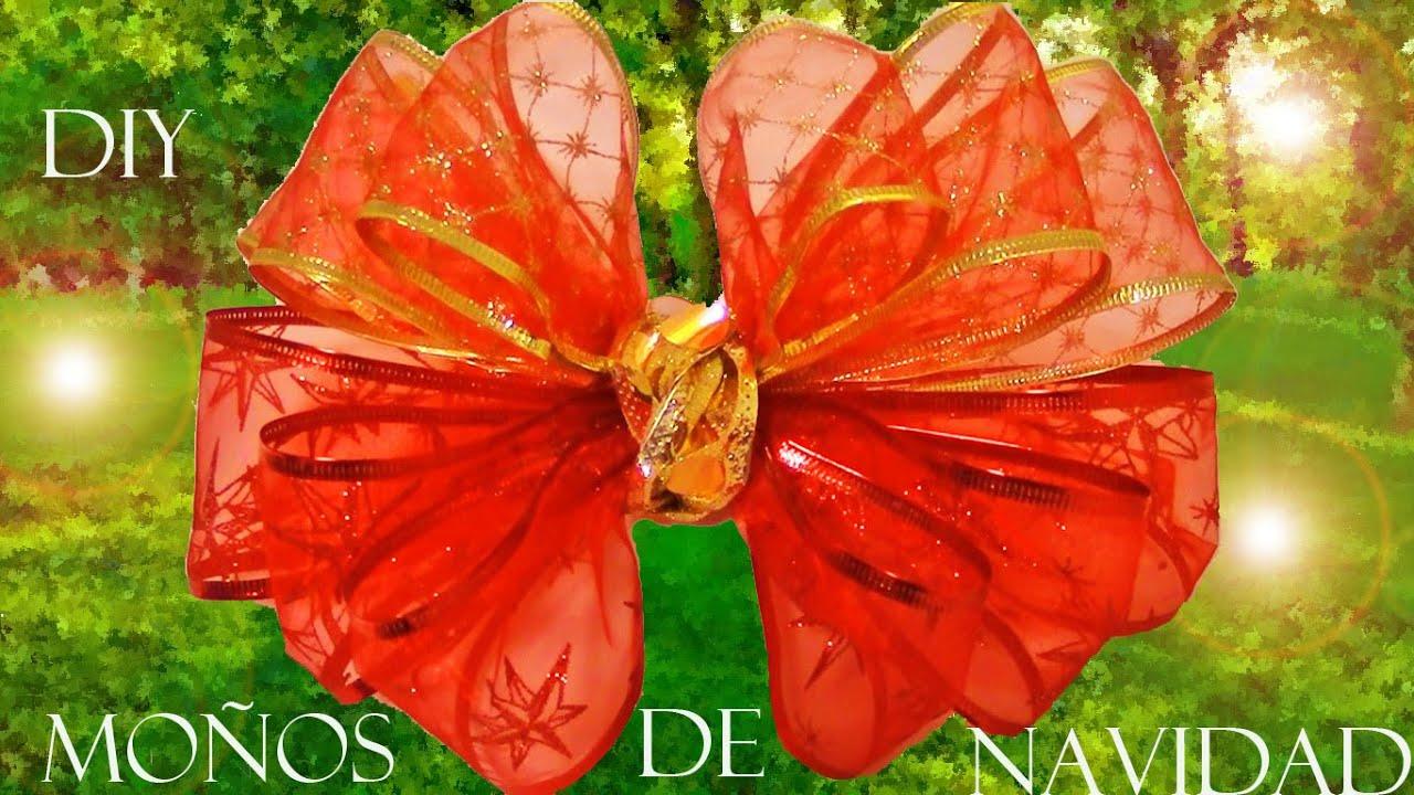 diy flores y moos navideos en cintas christmas flowers and ribbons youtube