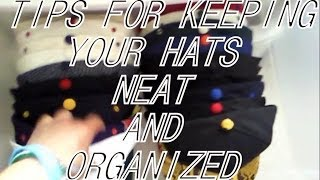 Hat Storage Tips: 2 Easy Ways to Keep Your Hats Organized and Clean