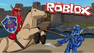 Roblox | CASTLE DEFENDER - Roblox Valor! (Knights, Horses, Catapults)