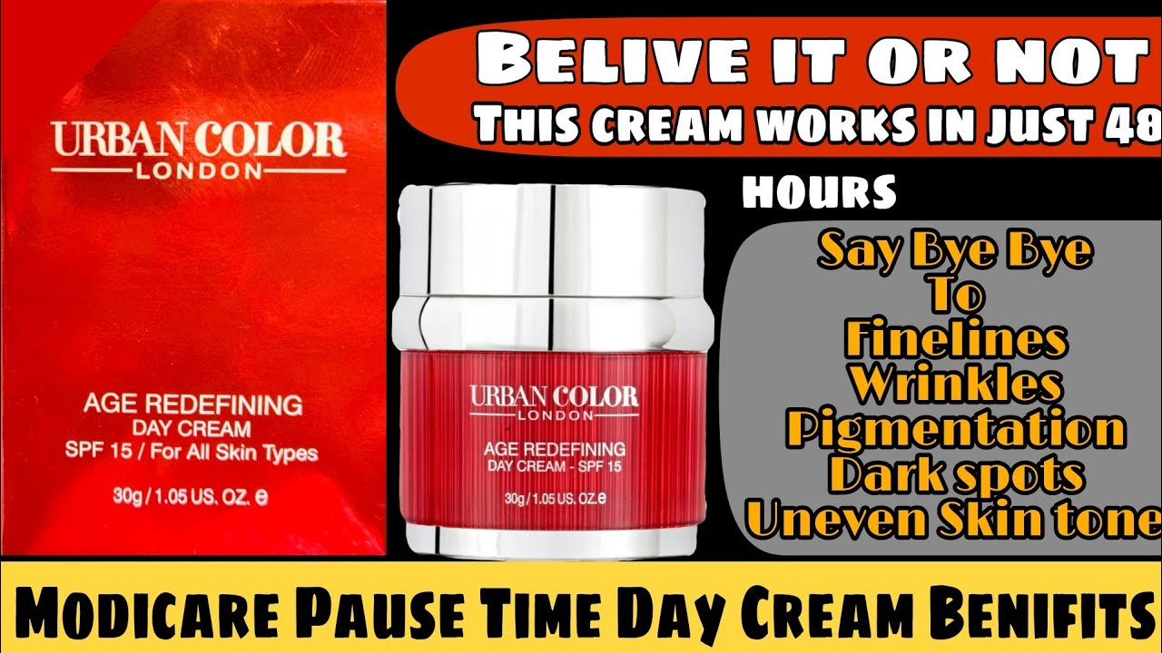 Modicare Urban Color Pause Time Day Cream Complete Knowledge | Modicare New Product Review