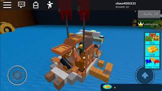 playing roblox build your own boat part 2