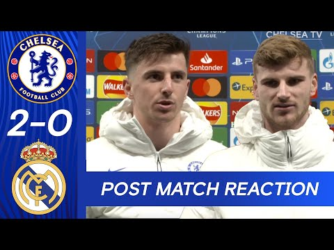 Mount, Werner, Kante & Tuchel On Becoming Champions League Finalists With Chelsea!