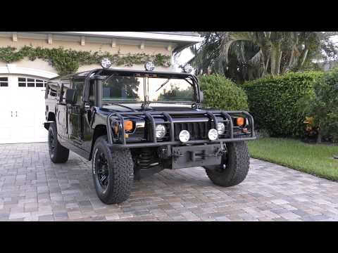 1997 AM General Hummer H1 M998 HMMWV Review and Test Drive by Bill - Auto Europa Naples