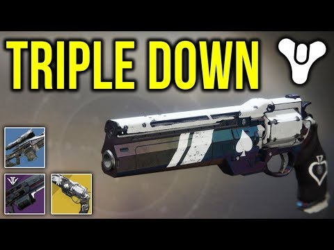 THE TRIPLE DOWN CURSE IS REAL!! *PROOF* | Destiny 2 thumbnail