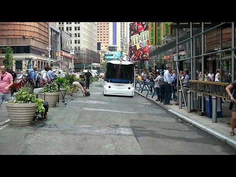شاهد: أول حافلة ذاتية القيادة تجوب شوارع نيويورك  - نشر قبل 2 ساعة