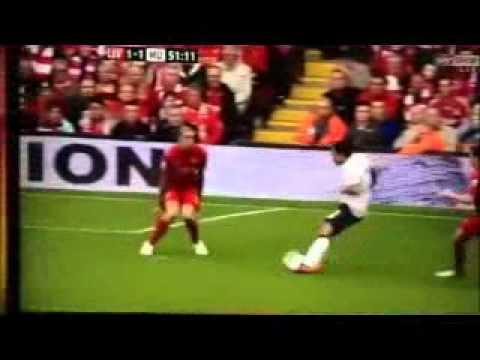 Rafael Da Silva Goal Liverpool 1-2 Manchester United 23/09/12