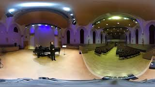 360 Video Clip- Raw Unedited File- Wiegenlied by Richard Strauss