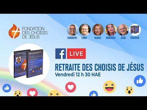 Facebook Live 25/06/2021- Retraite des choisis :  le bonheur du couple, partie 2