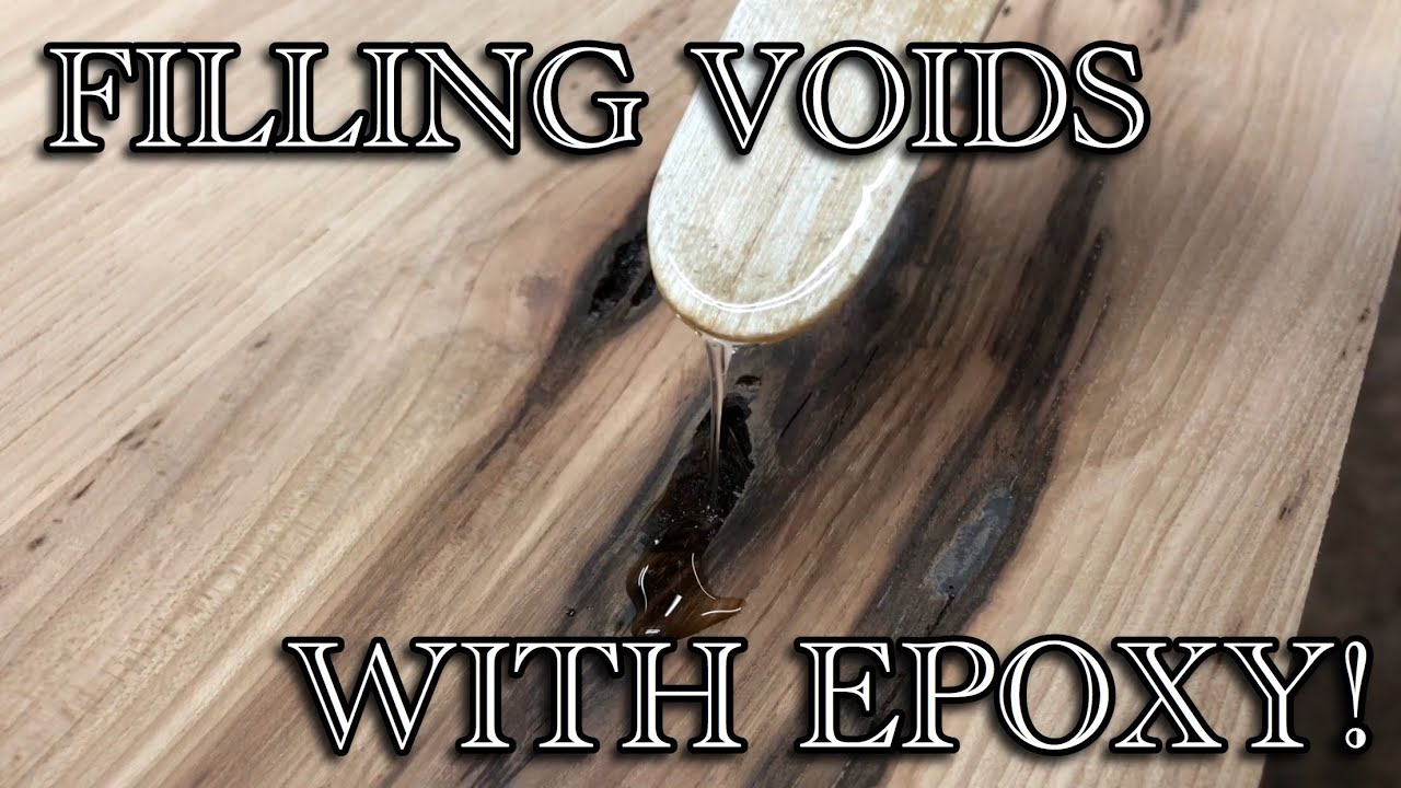 How To Fill Cracks And Voids With Epoxy Resin