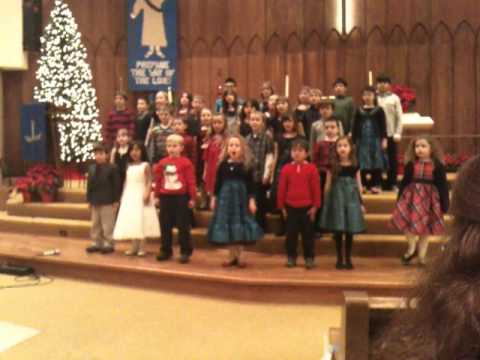 For to us, a child is born - Glendale Lutheran School Children's Chior