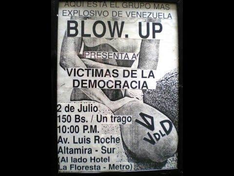 Victimas de la Democracia - Concierto en Blow. Up (Altamira Caracas 02/07/1992)