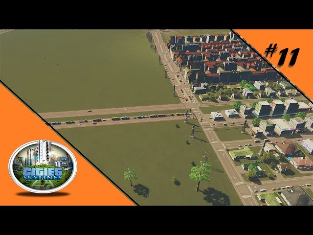 STAU IST NUR HINTEN BLÖD 🏡 Let's Play Cities: Skylines #11