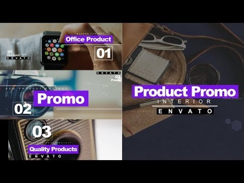 Product Promo - After Effects template - 동영상