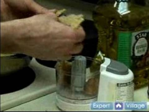 Easy Chicken Recipes : Make Breadcrumbs For Baked Chicken