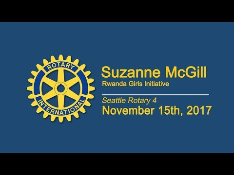 11-15-17 Luncheon Suzanne McGill, Rwanda Girls Initiative