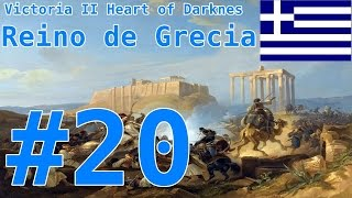 "Victoria II A Heart of Darkness - Reino de Grecia #20:""¿Decadencia bizantina?"""