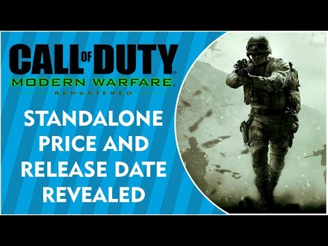 MODERN WARFARE: REMASTERED Standalone Price and Release Date