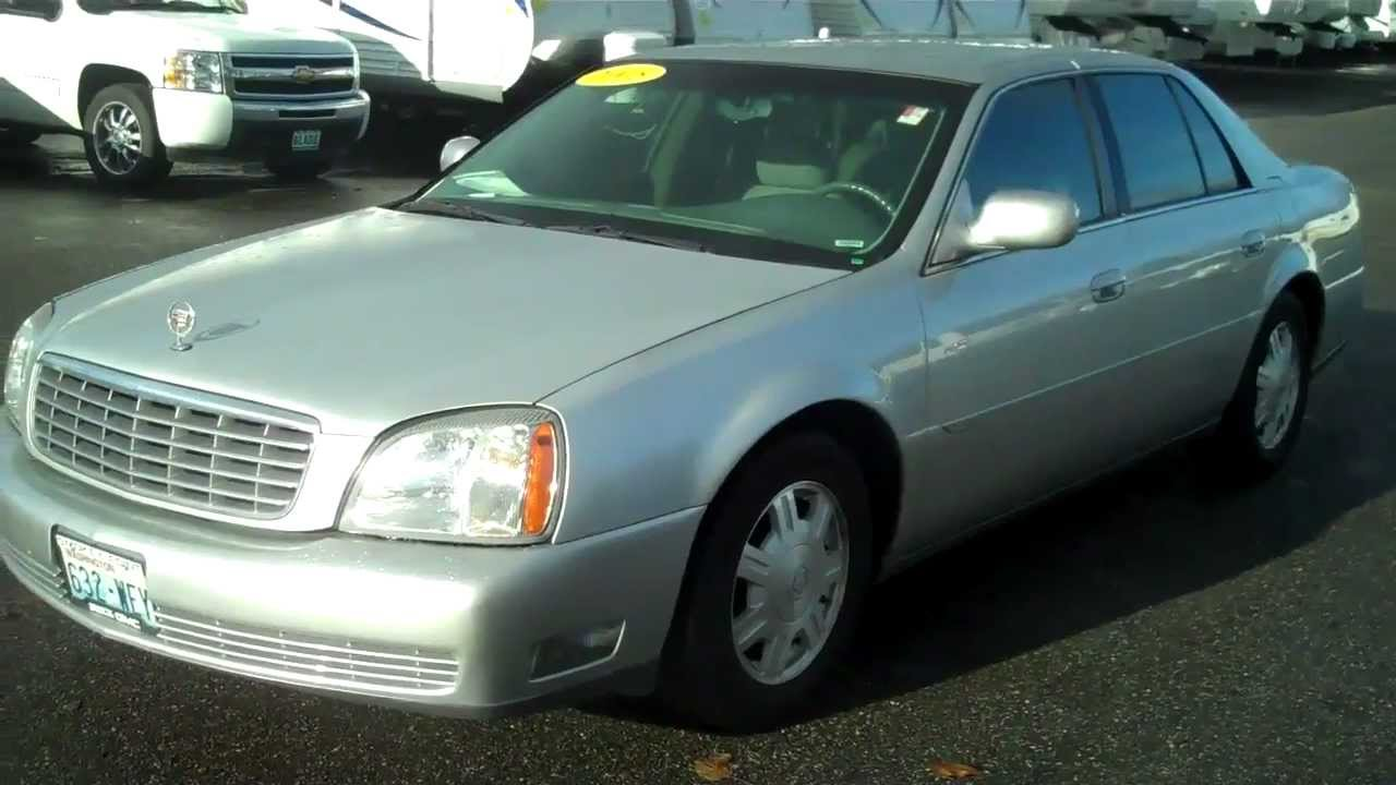 2005 Cadillac Deville - YouTube