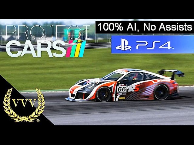 Project Cars - Ruf GT3 Race 100% AI, PS4 Gameplay