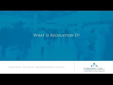 What is Regulation D?