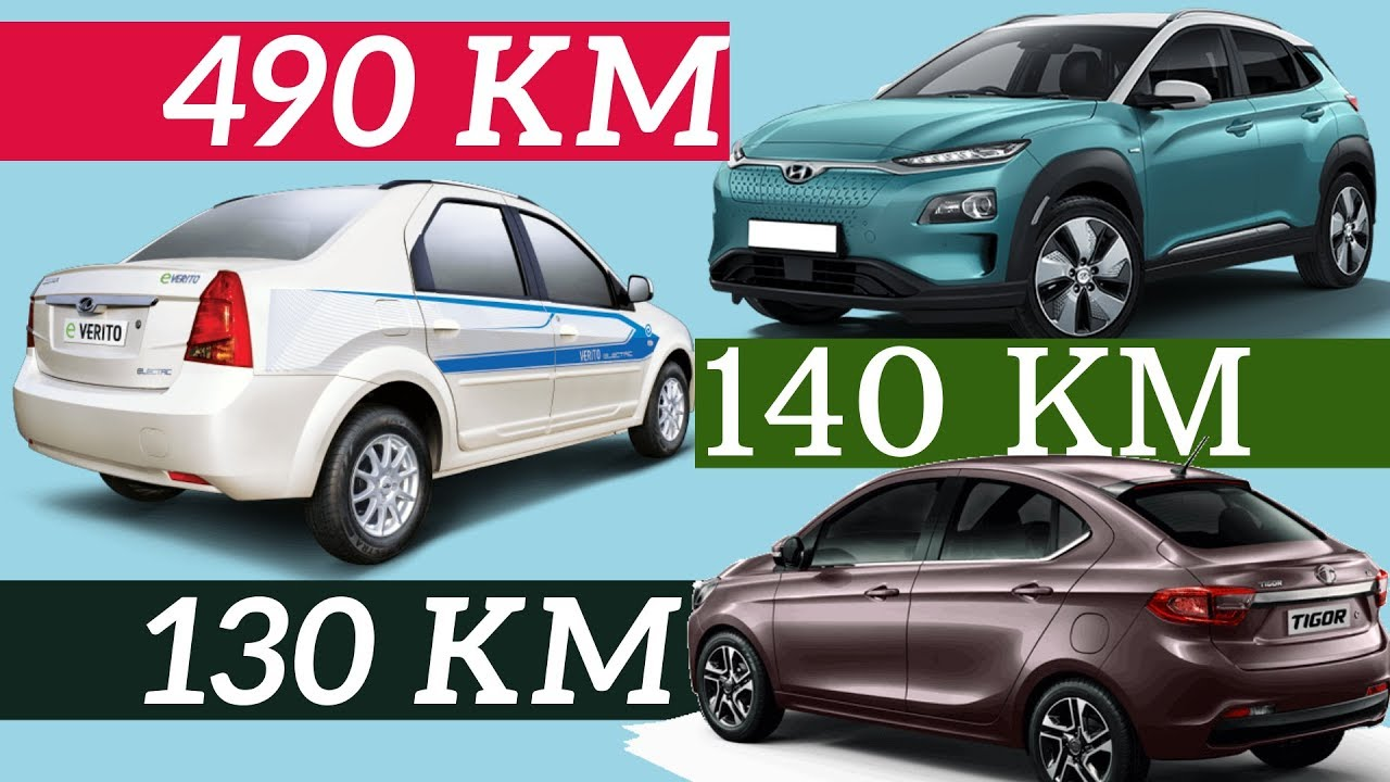 Top 5 Best Mileage Electric Cars in India 2019