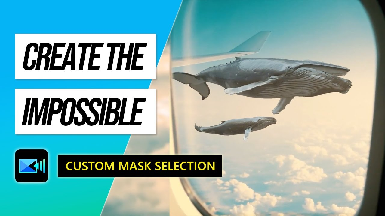 How to Use a Custom Selection Mask to Create the Impossible   PowerDirector Tutorial