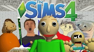 The Sims 4: Baldi's Basics in Education and Learning (CAS, School Build, 7/7 Notebooks) thumbnail
