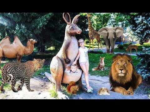 Ewa and Sonia visit Zoo in Chorzow city in Poland Zoo w Chorzowie Learn animals