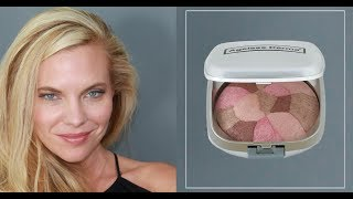 How to Apply Ageless Derma Baked Blush Collage