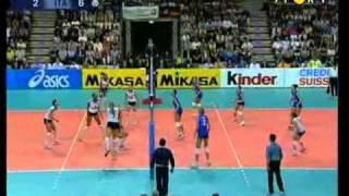 Mondiali Volley 2002 - Finale Italia-Usa 4°Set (1-2)