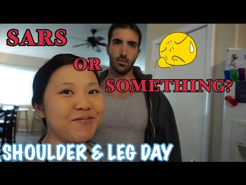 Under The Weather: Working Out Shoulders & Legs