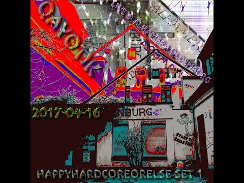Live @ Alhambra Oldenburg 2017 04 16  HappyHardCoreOrElse Set 1 pt 1   Qayotik made with musicvideod