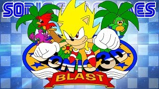Super Sonic in Sonic 3D Blast - OS SABONETES DO CAOS   Sonic Fan Games #39