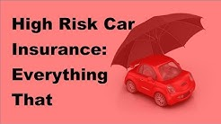 High Risk Car Insurance   Everything That Canadians Need to Know! - 2017 Automobile Insurance Tips