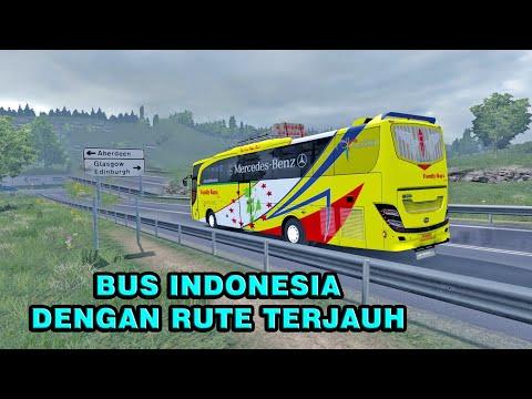 Inilah Bus Family Raya Dengan Trayek Terjauh Indonesia Kendal-United Kingdom Glasgow (Eropa)