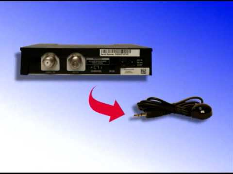 Setting Up The Remote Control Infrared Ir Extender Youtube